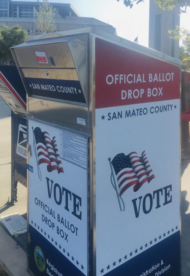 Foster City Ballot Drop Box