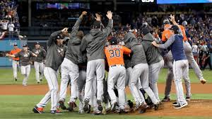 Houston Astros won the world series but were caught cheating